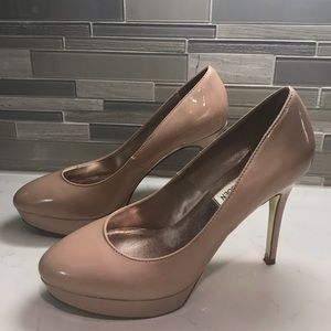 Nude pumps by Steve Madden- Size 8.5